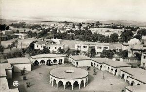 La ville coloniale de Colomb-Béchar, en Alhérie française