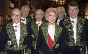 Des membres de l'Académie française