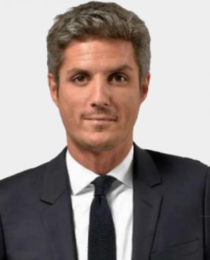 Le journaliste français Jean-Baptiste Boursier