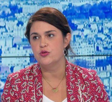 La journaliste française Mélanie Bertrand