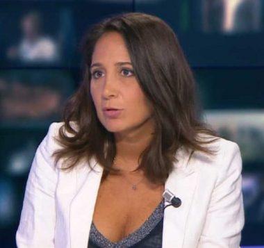 La journaliste française Mélanie Vecchio