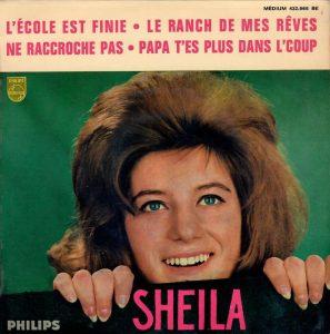 Super 45 tours de Sheila de 1963