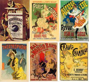 Anciennes affiches publicitaires
