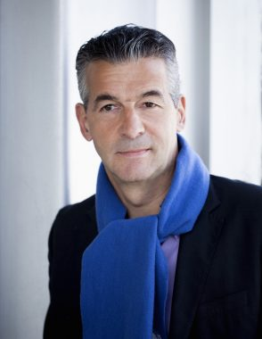 Le journaliste français Vincent Hugheux
