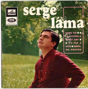 Le 4e disque super 45 tours du chanteur français Serge Lama (1966)