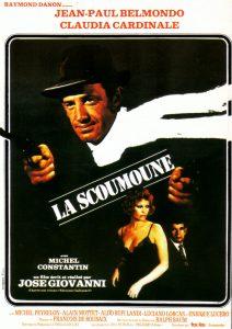 """Affiche belge du film français """"La scoumoune"""" de José Giovanni (1972)"""