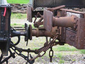 Un attelage de wagons