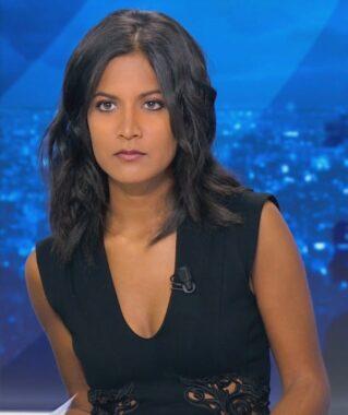 La journaliste française Aurélie Casse