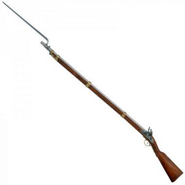 Un fusil napoléonien baïonnette au canon