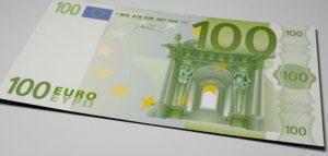 Un billet grec de 100 euros