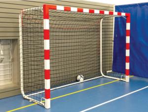 Une cage de handball