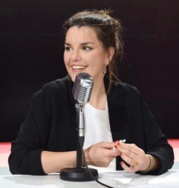 La journaliste française Caroline Philippe
