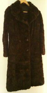 Un manteau de fourrure de bison