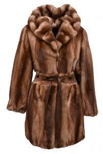 Un manteau de fourrure de vison