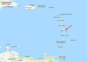 La Martinique (972), un DROM (Département et Région d'Outre-Mer) français