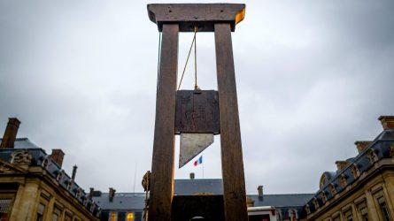 Une guillotine