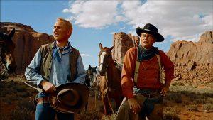 """Un plan américain du film états-unien """"La prisonnière du désert"""", de John Ford (1956)"""
