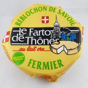 Du Reblochon fermier (étiquette verte)