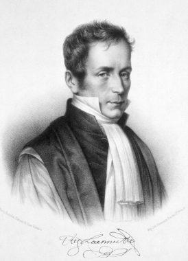 médecin français René -Théophile-Hyacinthe Laennec, né le 17 février 1781 et mort le 13 août 1826, à l'âge de 45 ans, il a révolutionné l'histoire de la médecine en inventant le stéthoscope en 1816