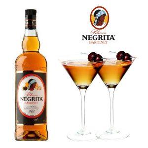 Publicité pour le rhim ambré Negrita