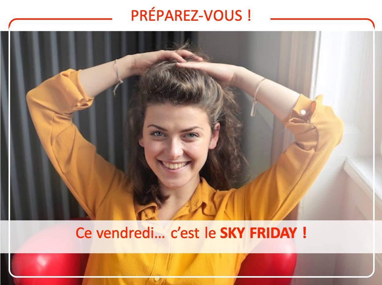 """Opération promotionnelle """"Sky friday"""" du 27 novembre 2020, de la société français Espaciel"""