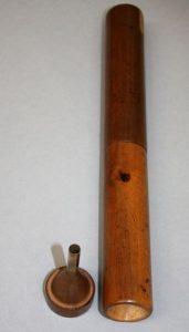 Le stéthoscope en bois de René Laennec