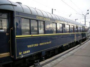 Voiture-restaurant de la Compagnie internationale des wagons-lits