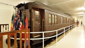 Le wagon de l'armistice de Rethondes