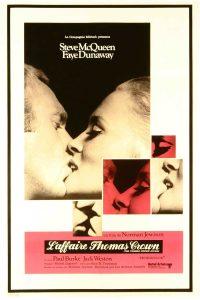 """Affiche du film états-unien """"L'affaire Thomas Crown"""", de Norman Jewison (1968)"""