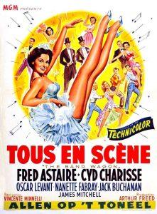 """Affiche du film états-unien """"Tous en scène"""", de Vincente Minelli (1953)"""