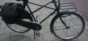 Béquille centrale de bicyclette