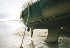 Béquille pour bateau