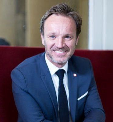 Le député français LREM Cédric Roussel