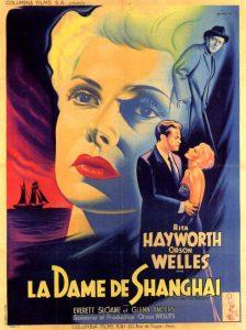 """Affiche du film états-uniens """"La dame de Shanghaï"""", d'Orson Welles (1947)"""