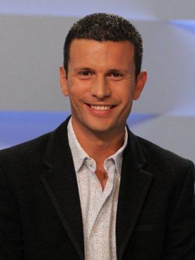 Le journaliste sportif français Benoît Cosset