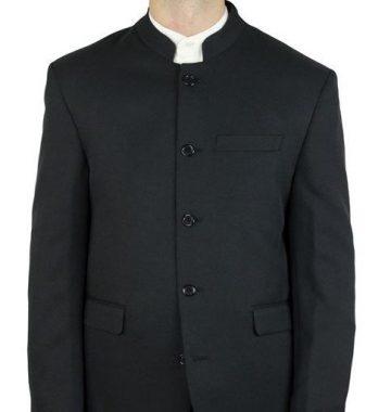 "Une veste portant un ""col Mao"""