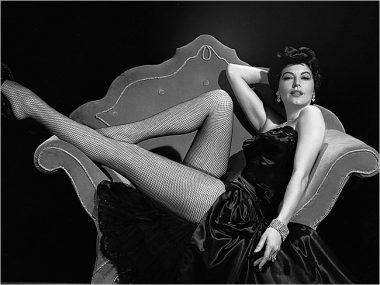 L'actrice états-unienne Ava Gardner