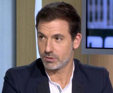 L'animateur de radio et de télévision français Grégory Ascher
