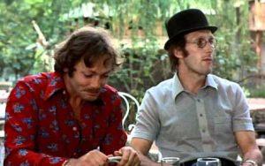 """Les acteurs français Patrick Dewaere et rufus dans le film français """"Lily aime-moi"""", de Maurice Dugowson (1975)"""