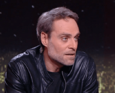 Le journaliste sportif français Philippe Sanfourche