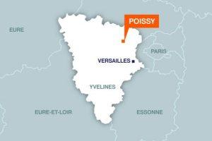 Localisation de la ville de Poissy (78)