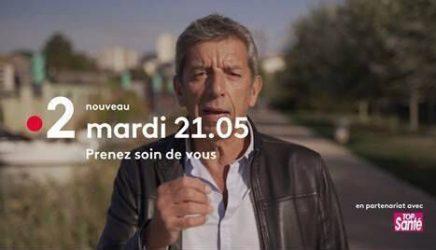 """Annonce promotionnelle de l'émission de Michel Cymes """"Prenez soin de vous"""", diffusée le mardi 19 janvier 2021 sur la chaîne de télévision publique française France 2"""