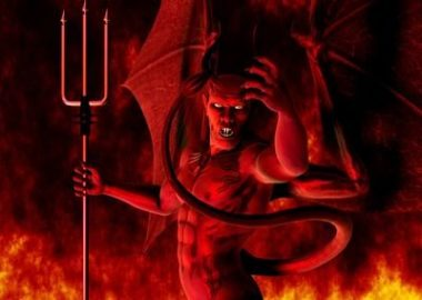 """""""Sentir le soufre"""" c'est à dire : le diable"""