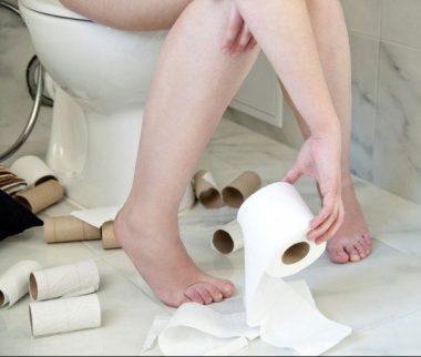 Avoir la diarrhée