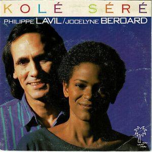"""""""Kolé Séré"""" : un 45 tours enregistré en 1985 par Philippe Lavil et Jocelyne Béroard, la chanteuse du groupe Kassav"""