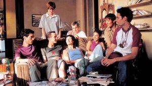 """La colocation dans le film français """"L'auberge espagnole"""", réalisé en 2002 par Cédric Klapisch"""