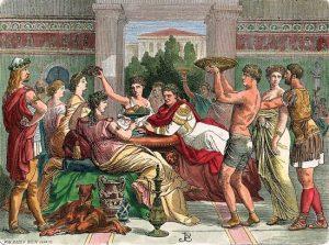 Une orgie romaine