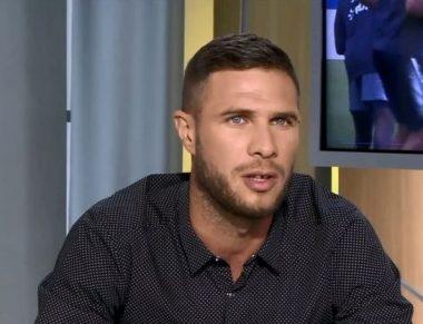 L'ancien joueur de football français Pierre Bouby