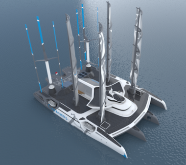 Le projet Manta de l'association The SeaCleaners