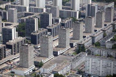 La ville de Sarcelles (95)